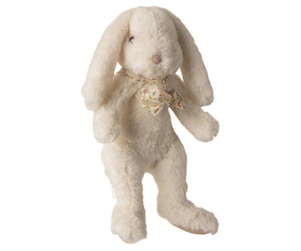 Maileg // Maileg - Fluffy Bunny, Large - White - All The Little Bows