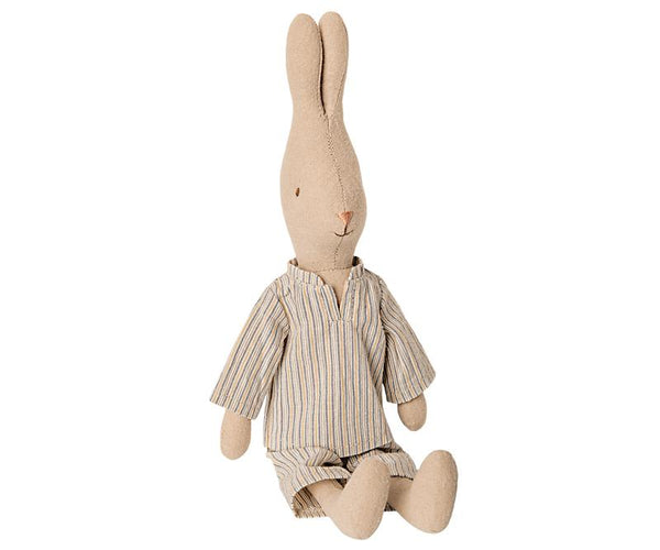 Maileg // Maileg - Rabbit Size 2, Pyjamas - All The Little Bows