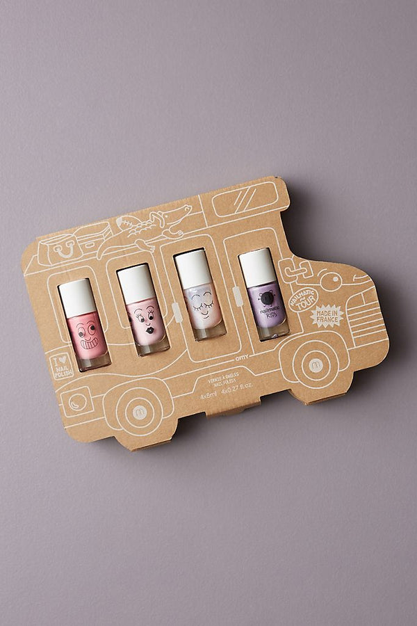 Nailmatic // nailmatic // Storyboard Gift Set - Holiday Van - All The Little Bows