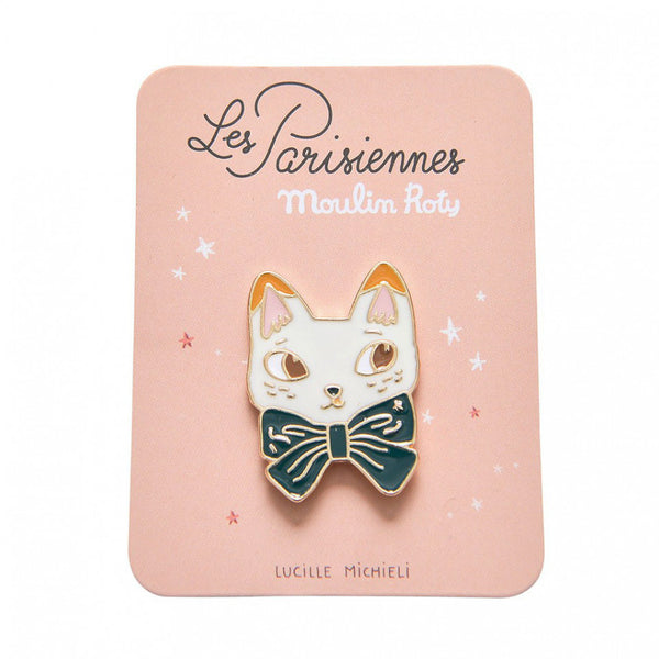 Moulin Roty // Enamel Pin | Cat - All The Little Bows