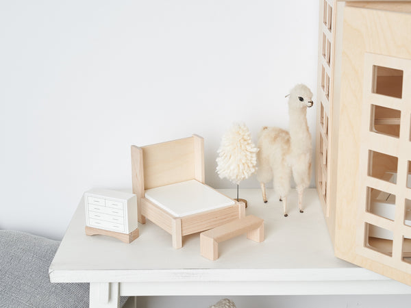 Milton and Goose // Bedroom Dollhouse Furniture Set - All The Little Bows