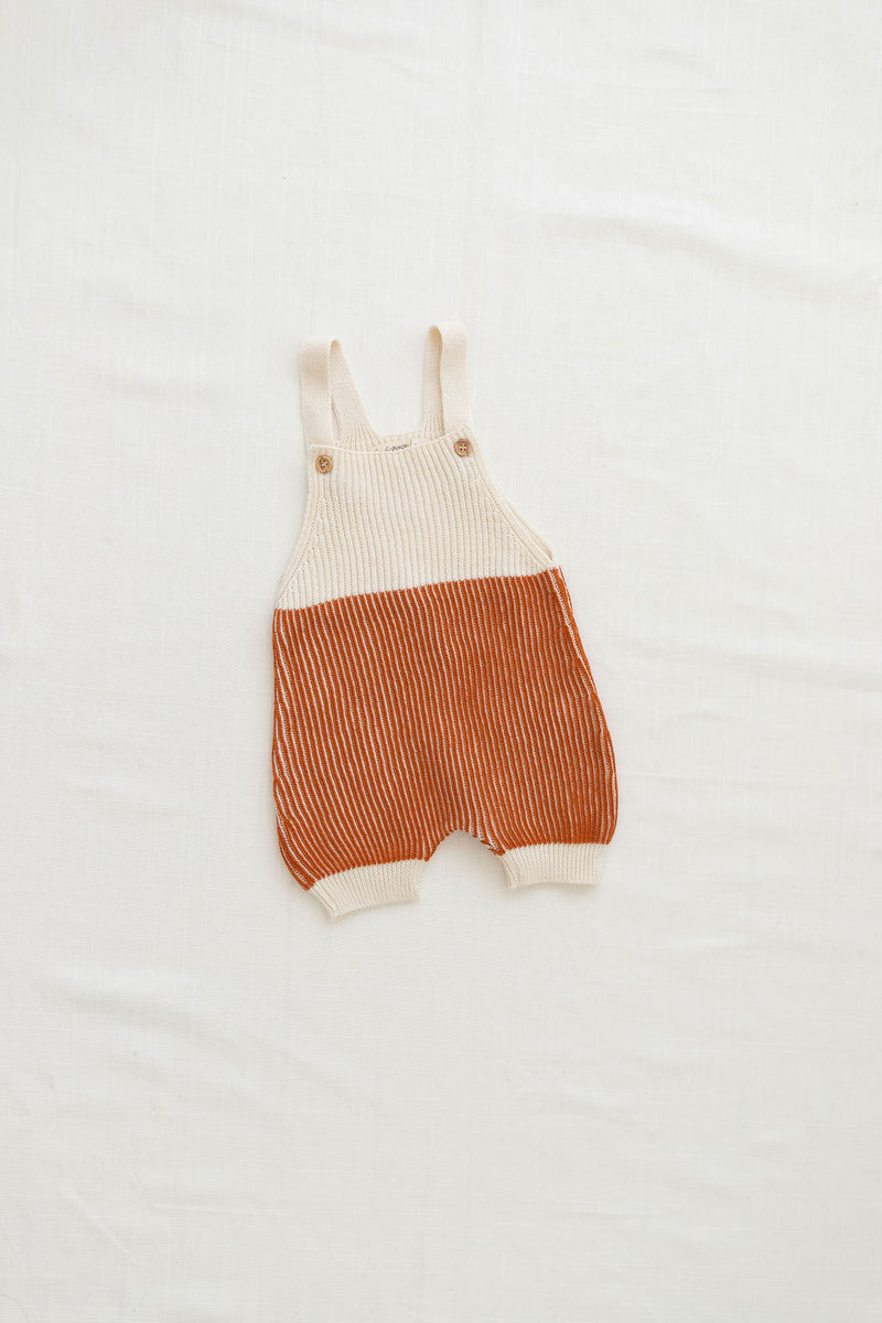 Fin & Vince // field romper | ginger - All The Little Bows