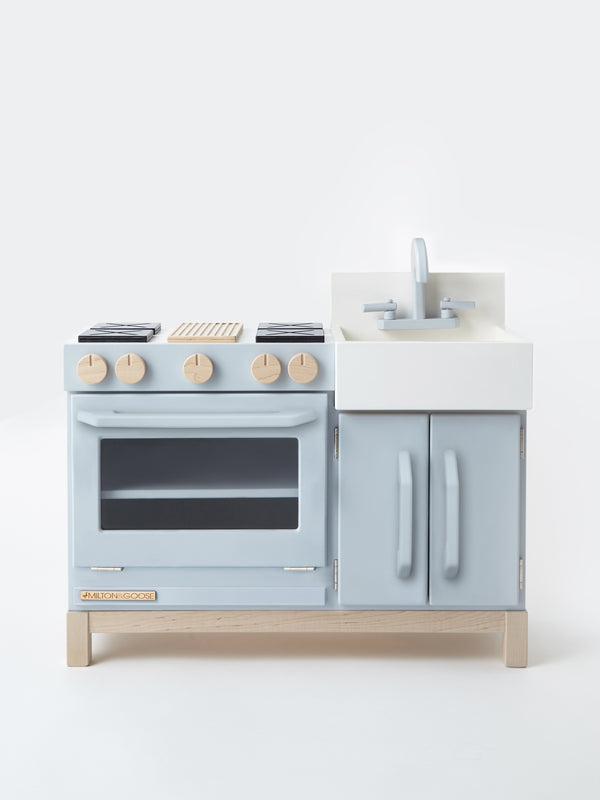 Milton and Goose // Essential Play Kitchen | Gray - All The Little Bows