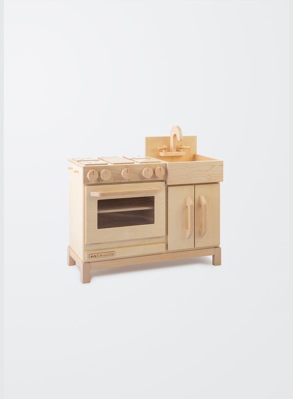 Milton and Goose // Essential Play Kitchen | Natural - All The Little Bows