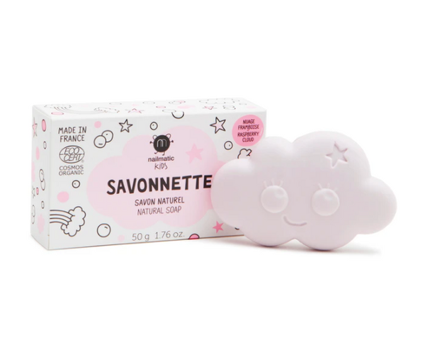 Nailmatic // nailmatic // Raspberry Cloud Soap - All The Little Bows
