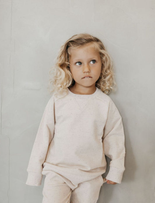 Jamie Kay // fleck dylan sweatshirt | peachy - All The Little Bows