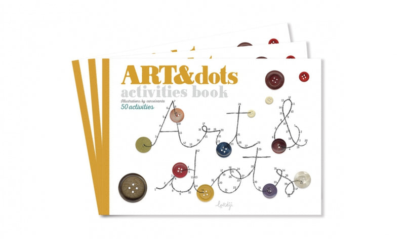 Londji // art and dots activity book - All The Little Bows