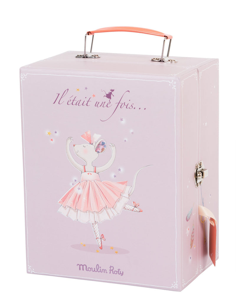 Moulin Roty // Etait Une Fois - Ballerina Mouse Valise - All The Little Bows