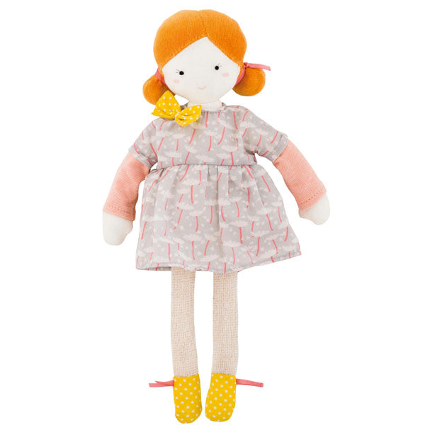 Moulin Roty // Les Parisiennes - Blanche Doll - All The Little Bows