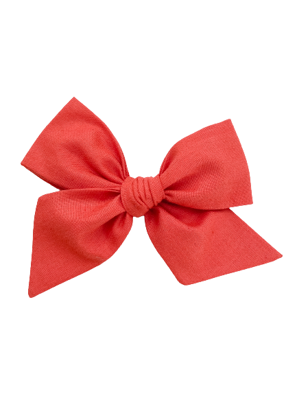 All The Little Bows // Pinwheel Bow | Red Hot - All The Little Bows