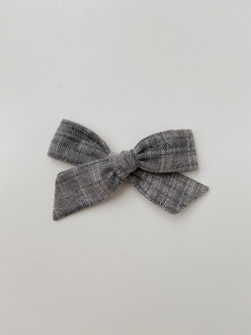 All The Little Bows // Classic Bow | Chambray - All The Little Bows