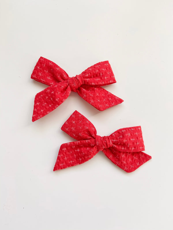 All The Little Bows // Classic Bow | Holly - All The Little Bows