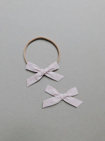 Simple // Lightest Lavender - Headband, Clip, or Pigtail Set - All The Little Bows