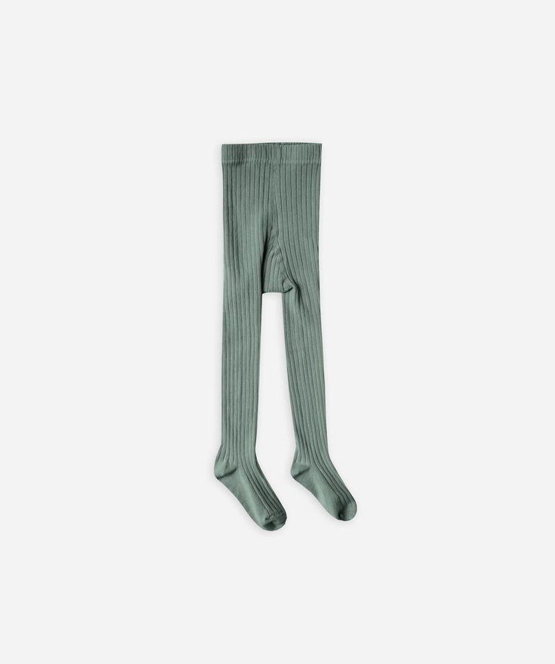 Rylee + Cru // R+C Ribbed Tights | Rainforest - All The Little Bows