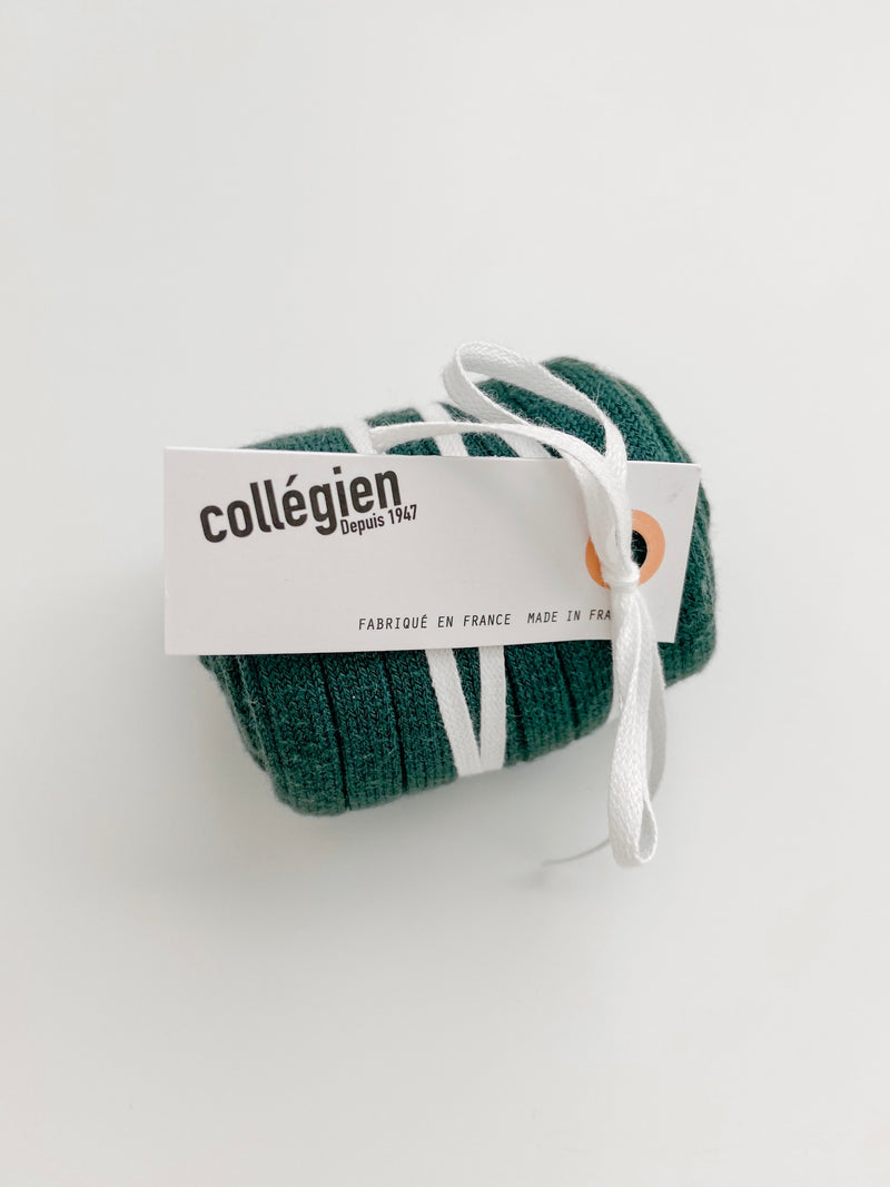 Collégien // Collegien Ribbed Knee Socks in Fonds Marins - All The Little Bows
