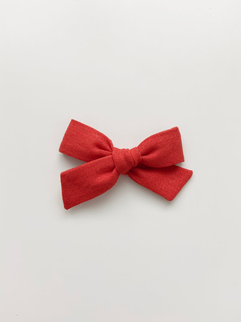 All The Little Bows // Classic Bow | Candy Apple - All The Little Bows