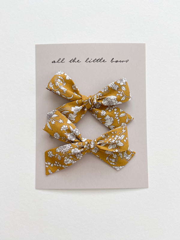 "All The Little Bows // ""Golden Meadow"" Classic Bow - All The Little Bows"