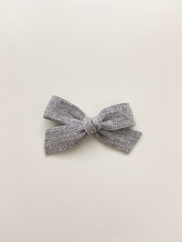 All The Little Bows // Classic Bow | Pacific Chambray - All The Little Bows