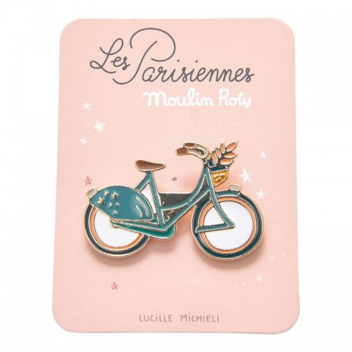 Moulin Roty // Enamel Pin | Bike - All The Little Bows