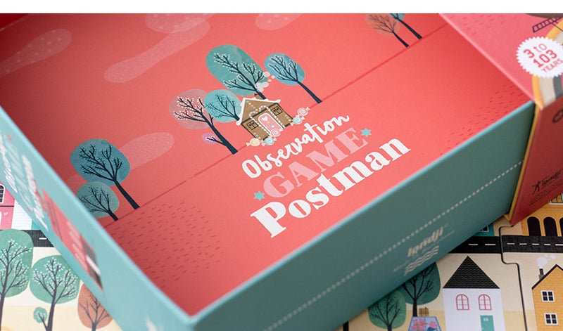 Londji // postman observation game - All The Little Bows
