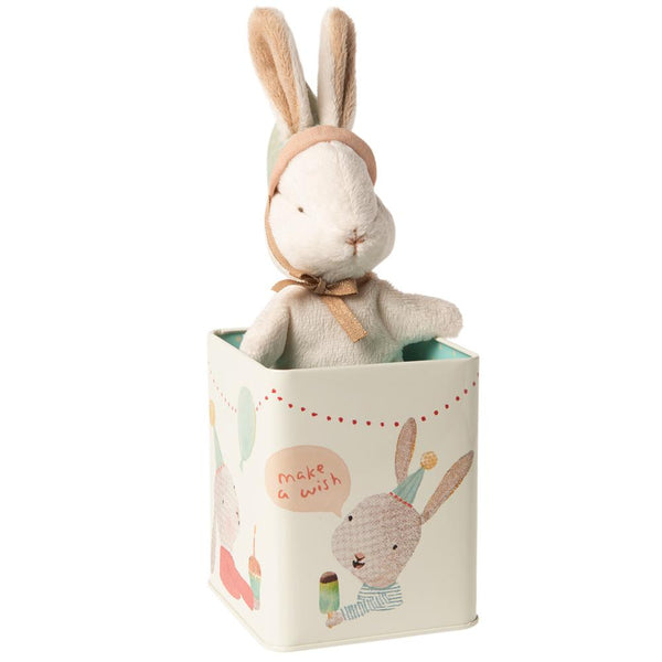 Maileg // Maileg - Happy Day Bunny in Box, Small - All The Little Bows