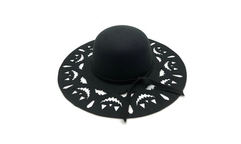 Spooky sun hats  - madame whiskers