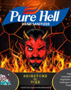 PURE HELL hand sanitizer