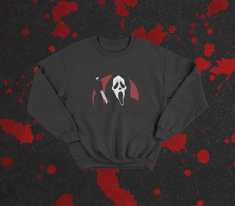 Scream inspired pullover
