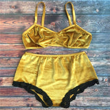 Butterscotch lingerie set