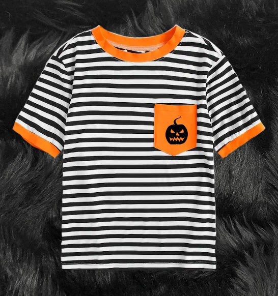 Halloween Striped Tees