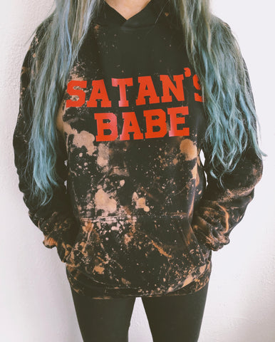 Satan's Babe pullover/hoodie
