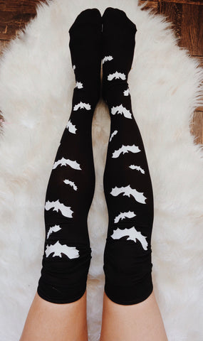 Bat knee highs