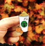 Pumpkin Spice Latte - Starbucks Pin