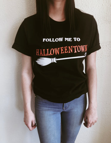 Follow me to Halloweentown t-shirt