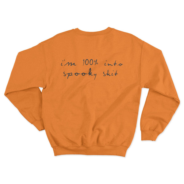 Spooky shit pullover