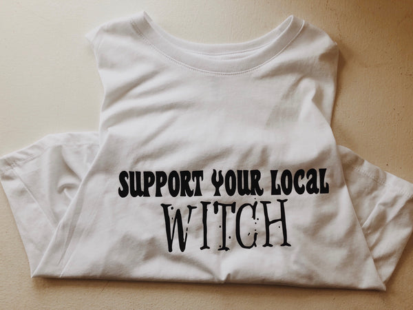 Support your local witch crop tank