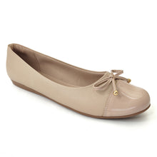Nude Patent with Napa Ladies Ballerina (100.213)