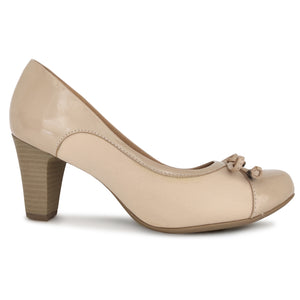 Taupe Pumps for Women (130.179) - SIMPLY SHOES HONG KONG