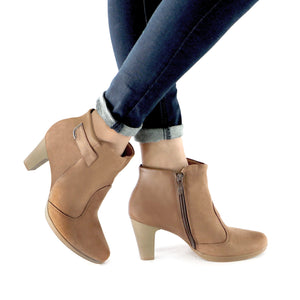 Brown Boots for Women (130.181) - SIMPLY SHOES HONG KONG
