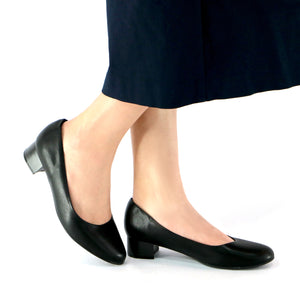 Black Napa Pumps for Women (140.110)
