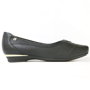 Black Flats Ballerina for Women (147.137)