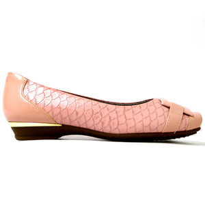 Light Pink Flats Ballerina for Women (147.140) - SIMPLY SHOES HONG KONG