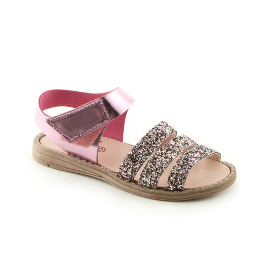 Fairy Pink Leather (SS-7038) - SIMPLY SHOES HONG KONG