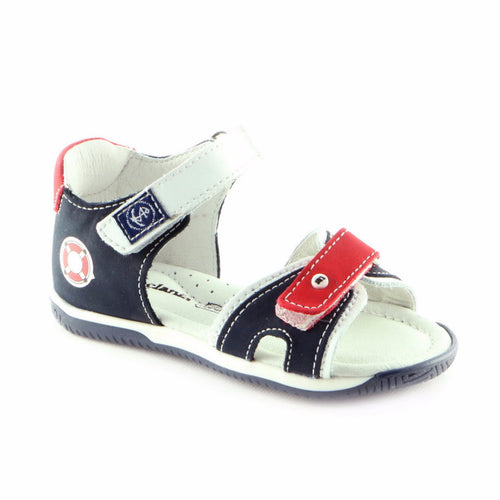 Original Combo Leather Boys Sandals (SS-8009) - SIMPLY SHOES HONG KONG