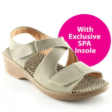 Taupe Sandals for Women (568.006)