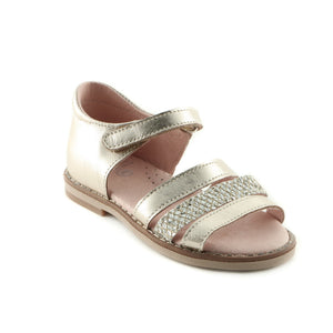 Fantastic Golden Leather girls sandal (SS-7031)