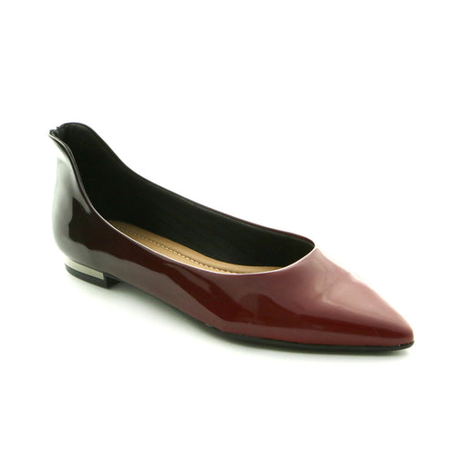 Burgundy Shoes for Women (274.024)