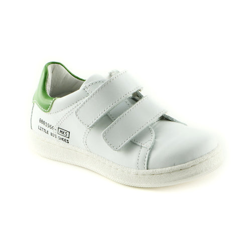 Classic White Leather Trainers (SS-8010)