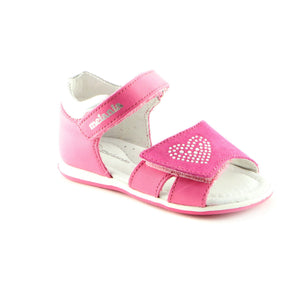 Delightful Fuxia Leather Sandal  (SS-7026) - SIMPLY SHOES HONG KONG