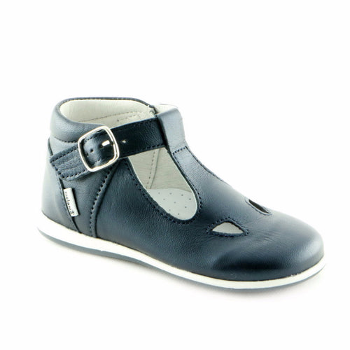 Wonderful Navy Leather shoe (SS-7028)